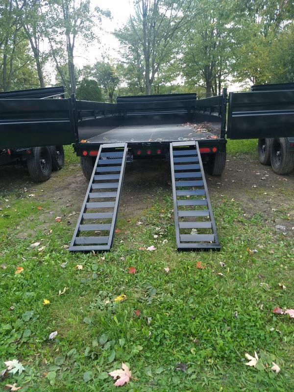 83 x 16 Heavy Duty Dump Trailer