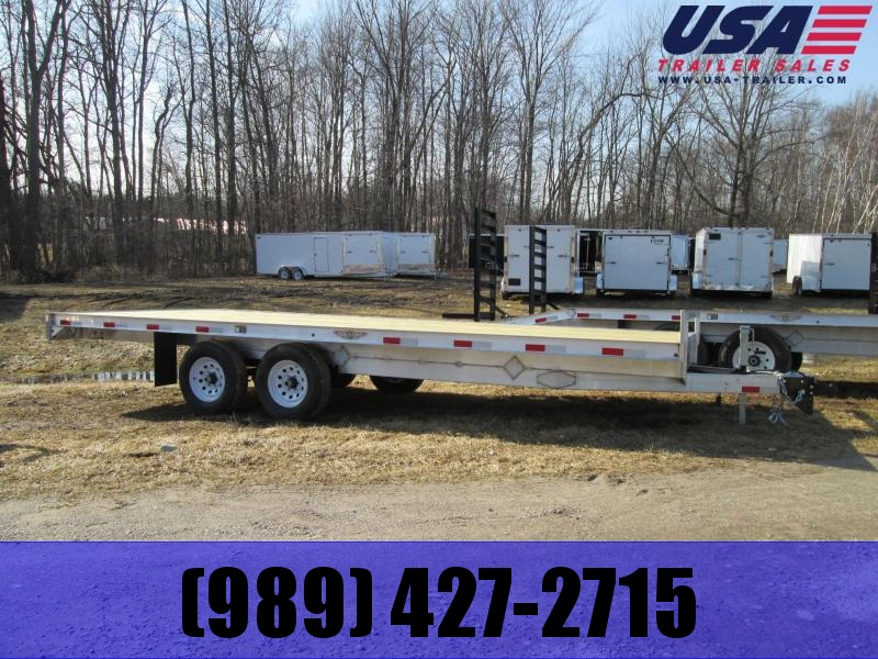 2019 H and H Trailer 20 Straight Deck Flatbed Trailer