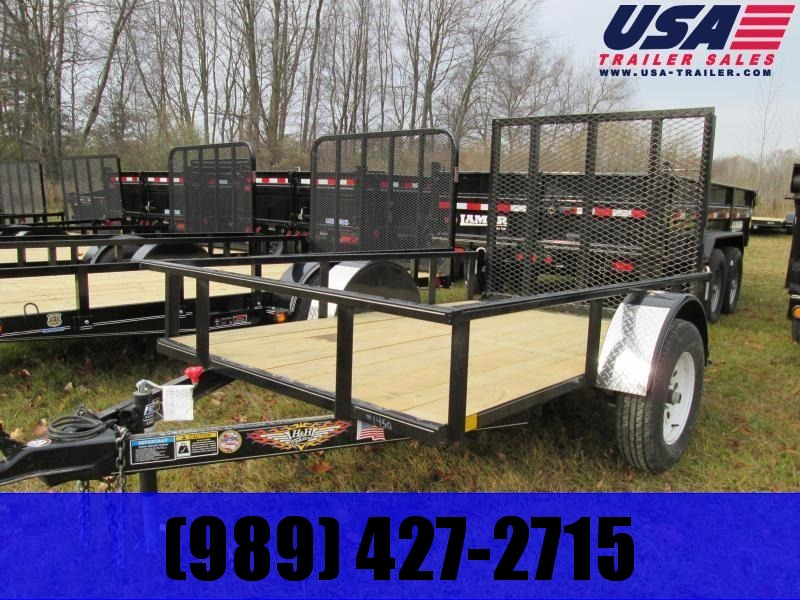 2020 H and H Trailer 5X10 Landscape Utility Trailer