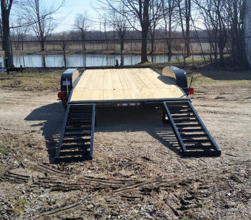 82 x 16 A.M.O. Equipment Trailer TA3