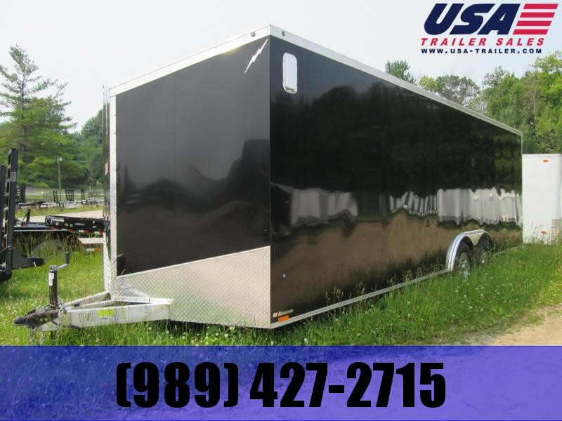 2020 Lightning Trailers 8 x 24 car hauler Enclosed Cargo Trailer