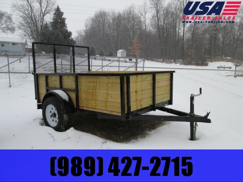 6x10 GoldStar High Side Utility Trailer