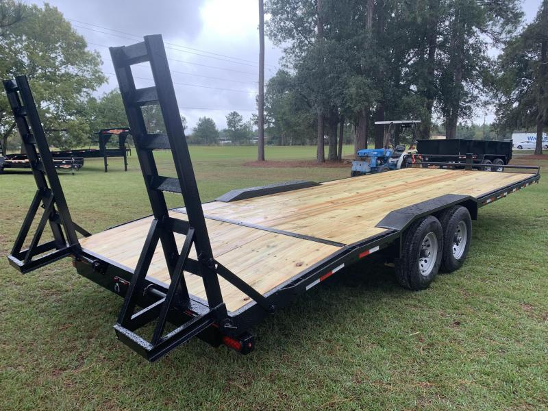 "(2020) 102""x24' Drive Over Fenders Equipment Trailer by Down 2 Earth"
