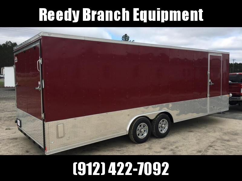 New 8.5x24 5200lb Brandywine  Enclosed Car Hauler