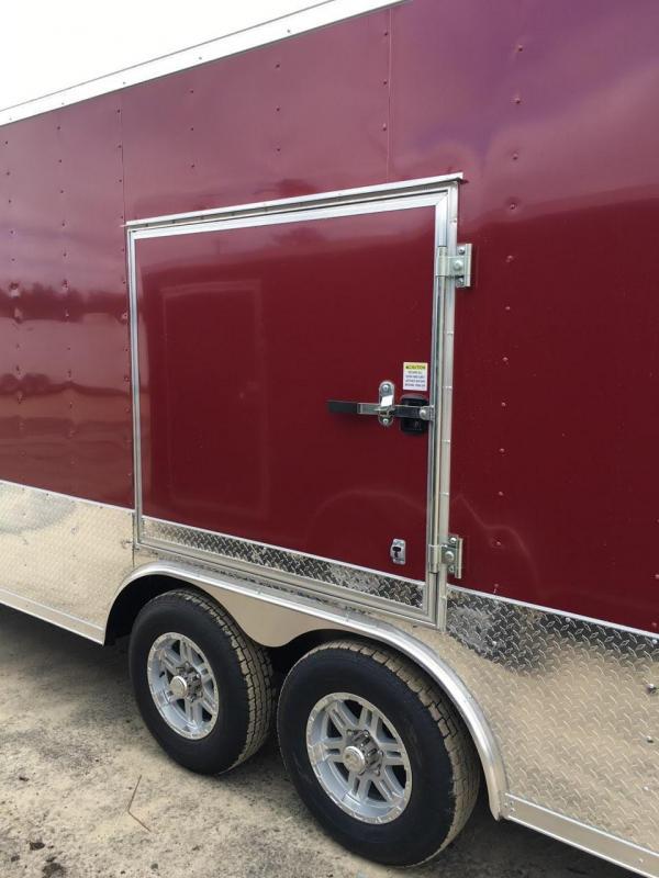 New 8.5x24 5200lb Brandywine  Enclosed Car Hauler