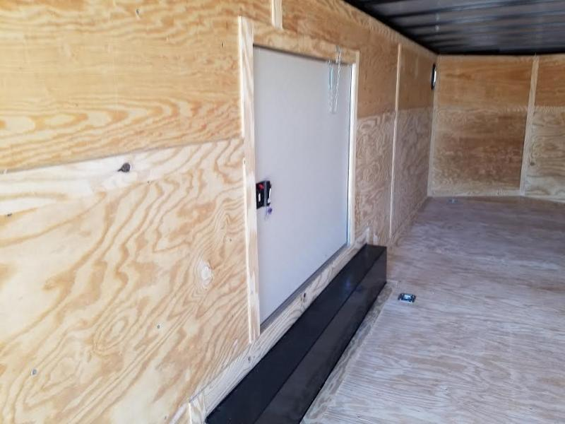 "New 8.5x24 Enclosed Cargo Trailer ""A Touch of Class"""