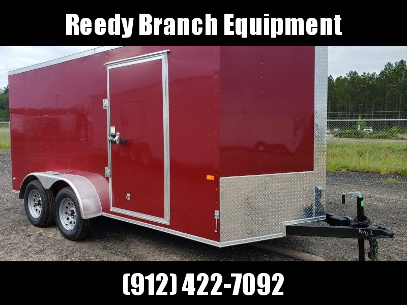 New 7x14 Brandy Wine Enclosed Cargo Trailer $3599