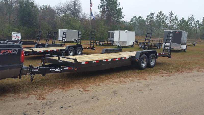 """2019 Down 2 Earth Trailers DTE7614G29 (76""""X14"""") Utility Trailer"""