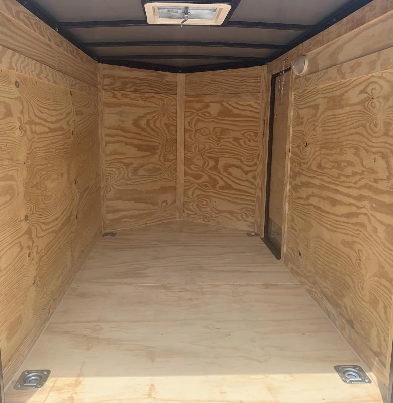 2020 Rock Solid Cargo 7x16-5200lb Electric Blue Enclosed Cargo Trailer