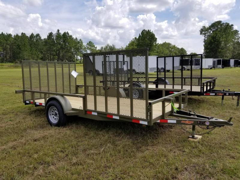 "Year End Clearance! New (2019) 82""x14' w/ Side Gate Down to Earth Utility Trailer!"