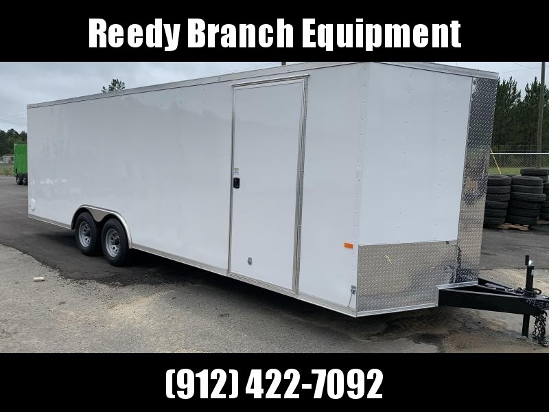 New 8.5x24 - 5200lb Enclosed Car Hauler. Tennesse Florida Alabama North Carolina South Carolina