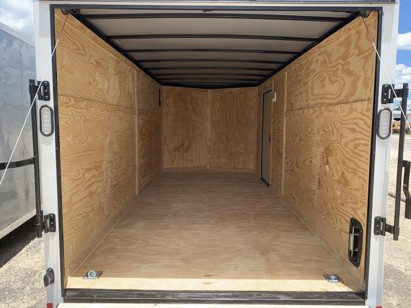 New 7x14 Enclosed Cargo Trailer with Upgrades- Rock Solid Cargo