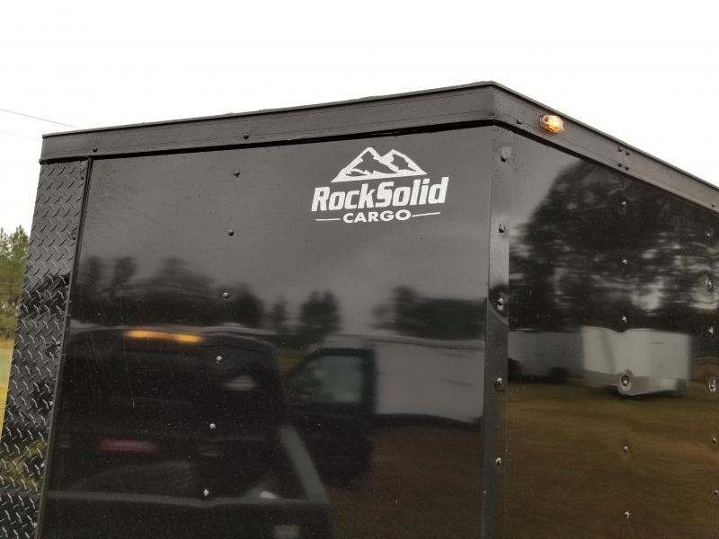 FALL SPECIAL! New 6x12SA Blackout Rock Solid Cargo  (Many upgrades)