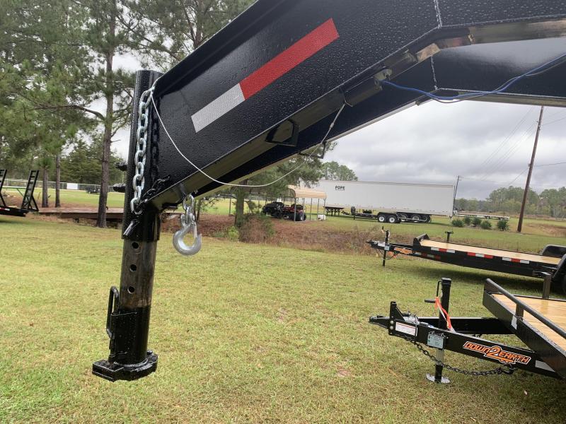2020 8'x30' 10 Ton Gooseneck Down to Earth Equipment Trailer