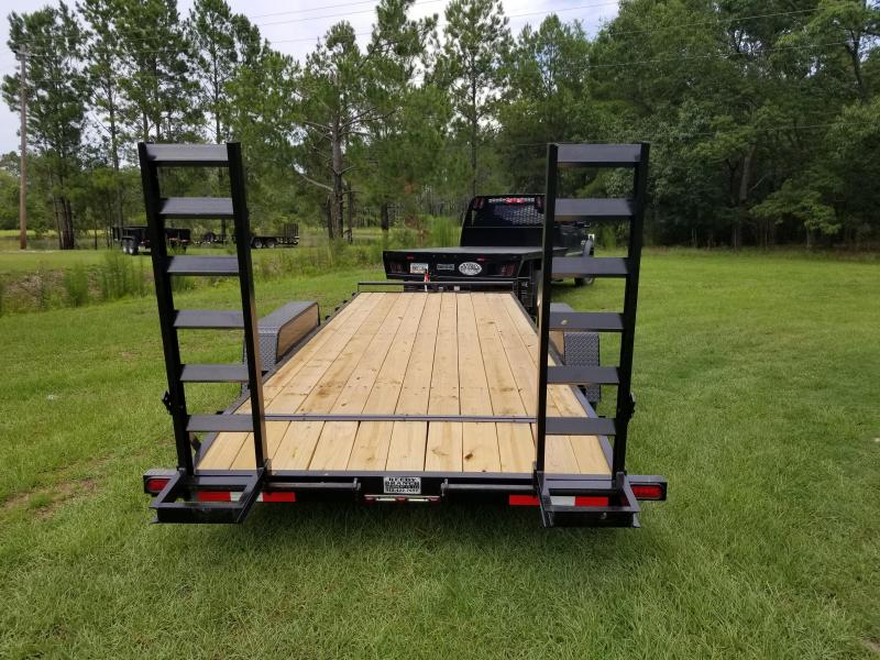 "2020 82""x20' 10K Equipment Trailer by Down to Earth"