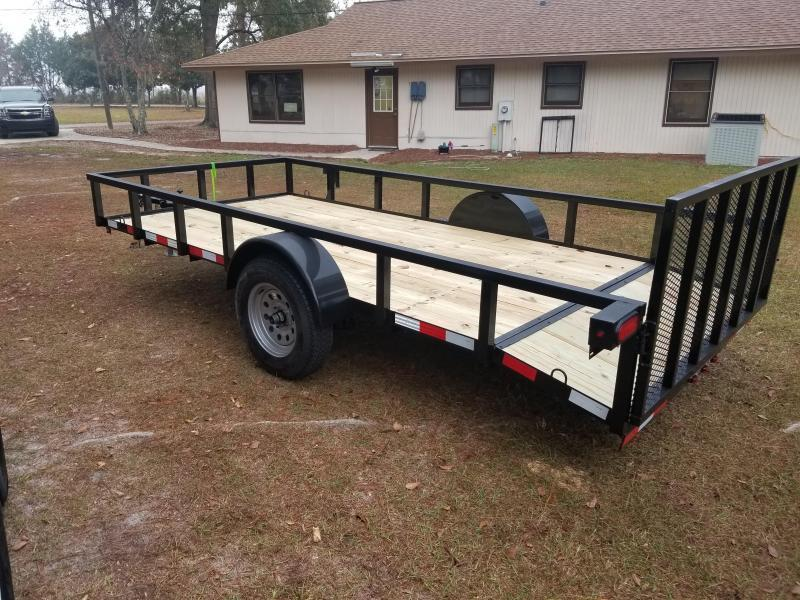 2019 Down 2 Earth Trailers DTE614G29 DOVETAIL Utility Trailer