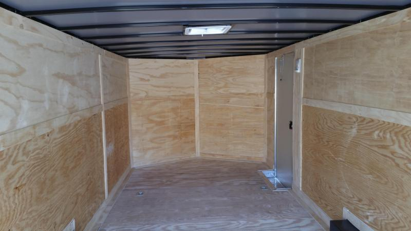 New 8.5x20 3500lb Enclosed Car Hauler Rock Solid Cargo