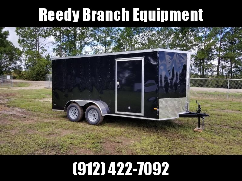 New 7x14 Enclosed Cargo Trailer (Black or White in Stock)