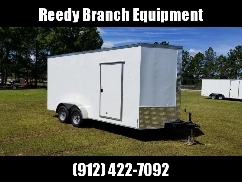 New 7x16 Enclosed Trailer (Barn Doors)
