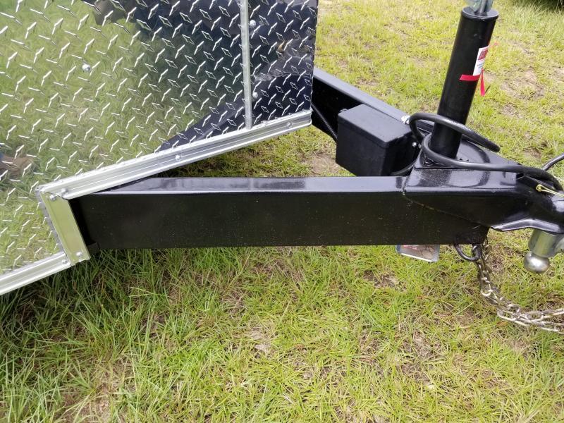 New 7x16 Rock Solid Cargo Enclosed Trailer