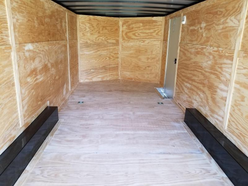 New 8.5x22 Enclosed Car Hauler 5200lb Axles Rock Solid Cargo
