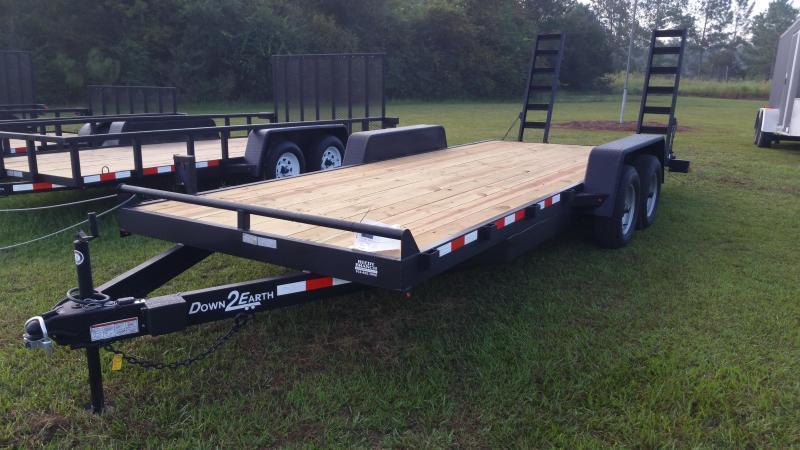 2019 6'x14' Down 2 Earth Utility Trailer