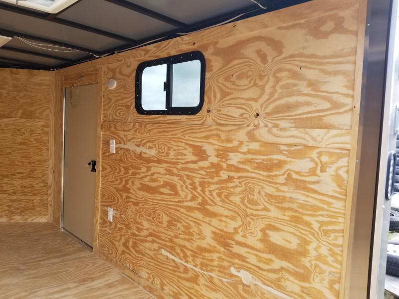 2020 Rock Solid Cargo Camper Trailer 6x12 Single Axle Enclosed Cargo Trailer