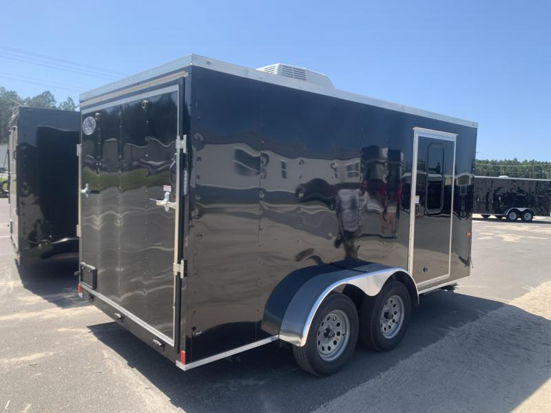 2020 Rock Solid Cargo 7x14-Camper Trailer Enclosed Cargo Trailer