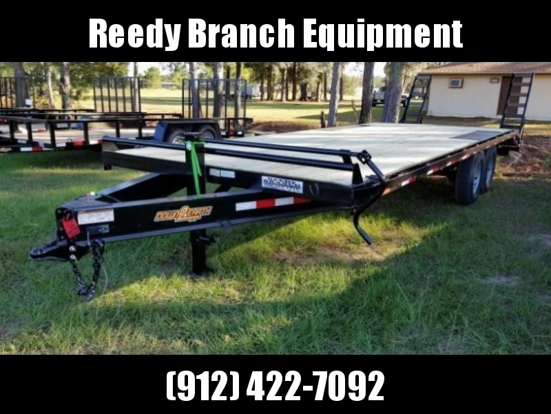 "New 102""x24' Deckover Down to Earth Equipment Trailer (14K GVWR)"