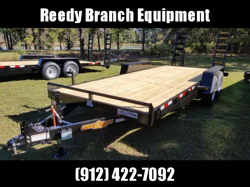 "2019 82""x20' (14K GVWR) Down 2 Earth Equipment Trailer"