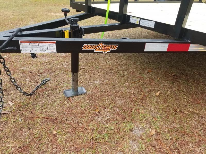 2019 Down 2 Earth Trailers DTE612G29 DOVETAIL Utility Trailer