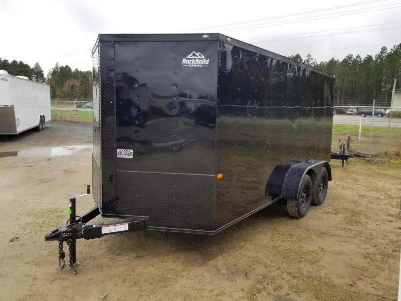 New 6x12 7x14 7x16 Blackout Package Enclosed Cargo Trailer