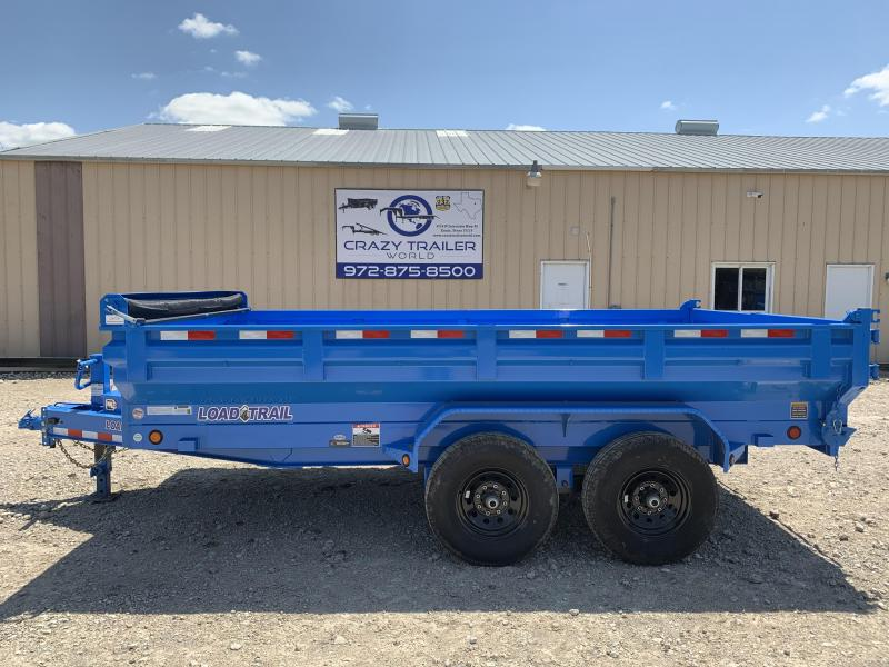 """2020 Load Trail 83"""" x 14' Tandem Axle Dump w/ MAX-Bed"""
