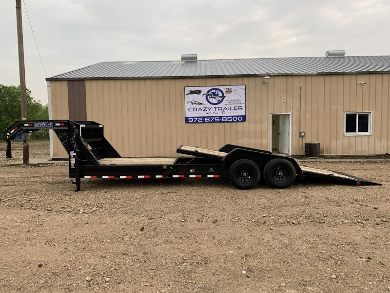 "2020 Load Trail 83"" X 24' Tilt-N-Go Gooseneck Tandem Axle Tilt Deck 8"" I-Beam Frame"