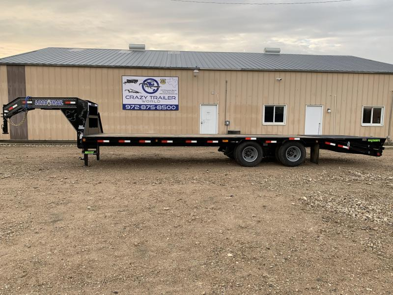 "2020 Load Trail 102"" x 28' Tandem Low-Pro Gooseneck"