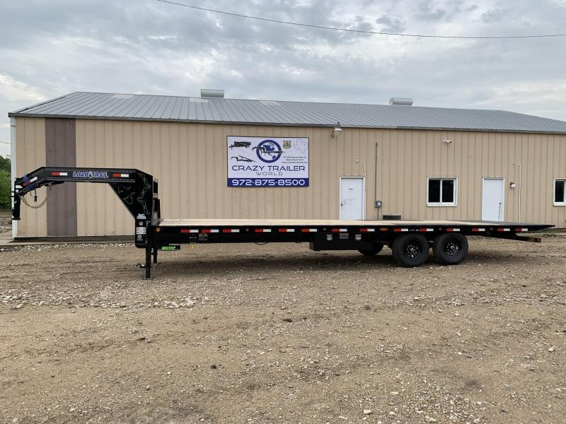 "2020 Load Trail 102"" x 28' Tandem Gooseneck Equipment Tilt Deck"