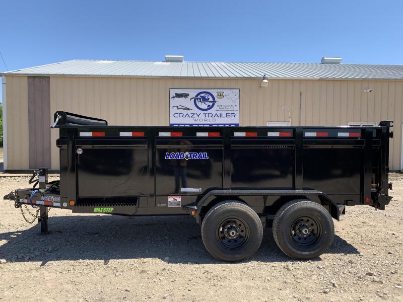 """2020 Load Trail 83"""" x 14' Tandem Axle Dump w/ 3' Sides"""