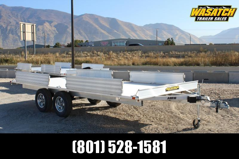 Aluma 7x16 ATV Trailer w/ Side Ramps