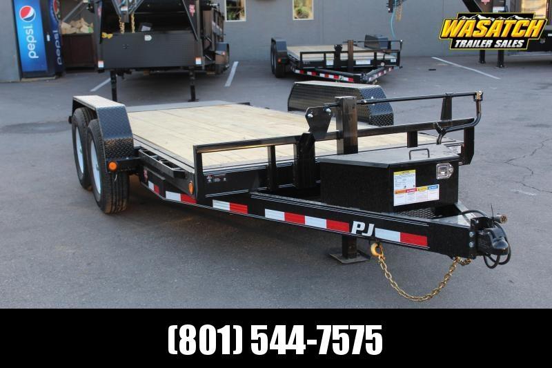PJ 16 ft - 6 in. Channel Equipment Tilt (T6) Equipment Trailer