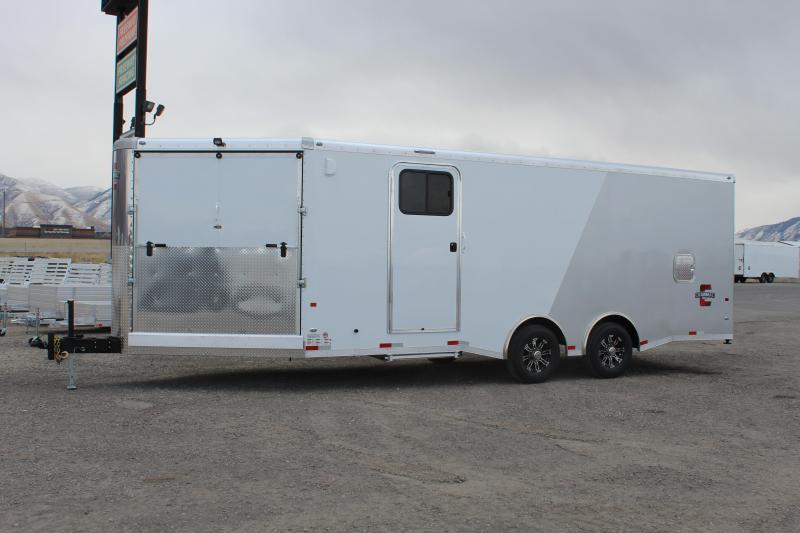 Charmac Trailers 8.5x28 Tri Sport Snowmobile Trailer