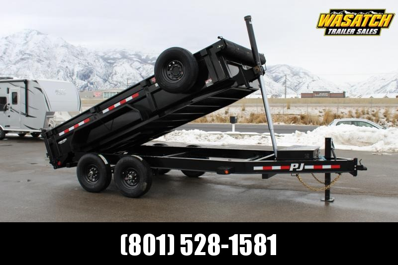 PJ Trailers 7x14 Pro-Lift Telescopic (DT) Dump Trailer