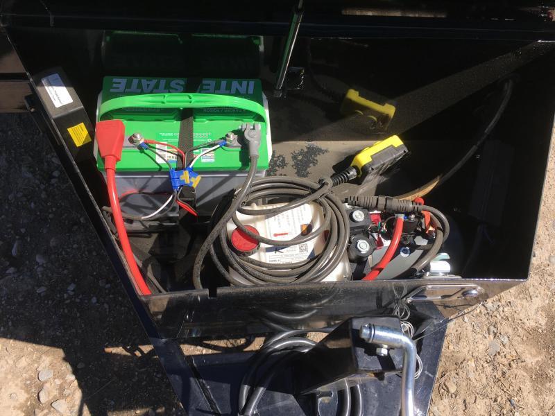 """PJ Trailers 5x10 Utility (D5) Dump w/ 18"""" High Sides"""