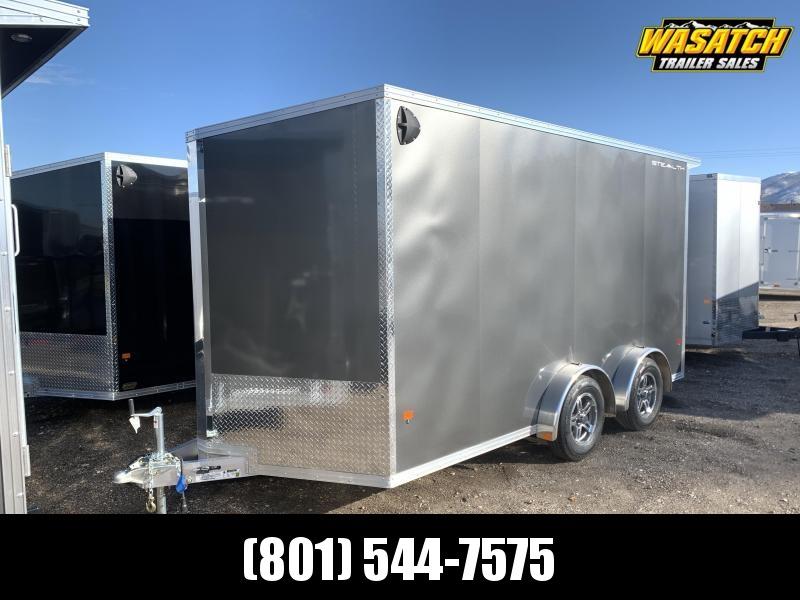 "Alcom-Stealth 7.5x14 Aluminum Cargo (7x14 + 6""w)"