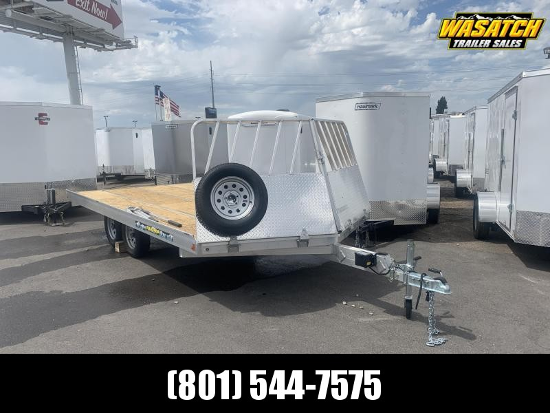 2020 Aluma 8616 Snowmobile Trailer