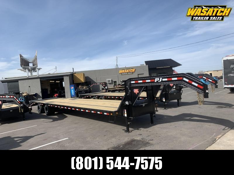 PJ 40' Low-Pro Flatdeck with Duals (LD) Flatbed Trailer