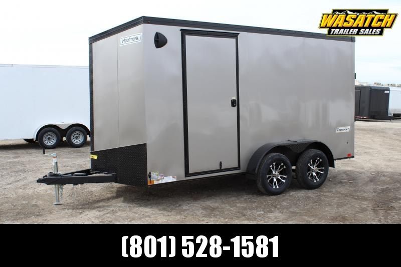Haulmark 7x14 Transport Enclosed Cargo Trailer w/ Phantom Package