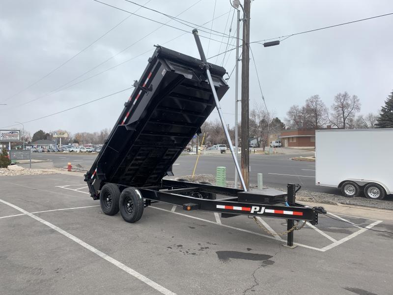 PJ 7x14 Pro-Lift Telescopic (DT) Dump Trailer