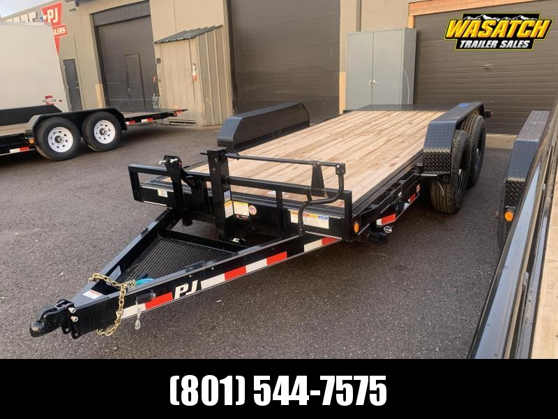 "2020 PJ Trailers 16"" - 6 in. Channel Equipment Tilt (T6) Equipment Trailer"