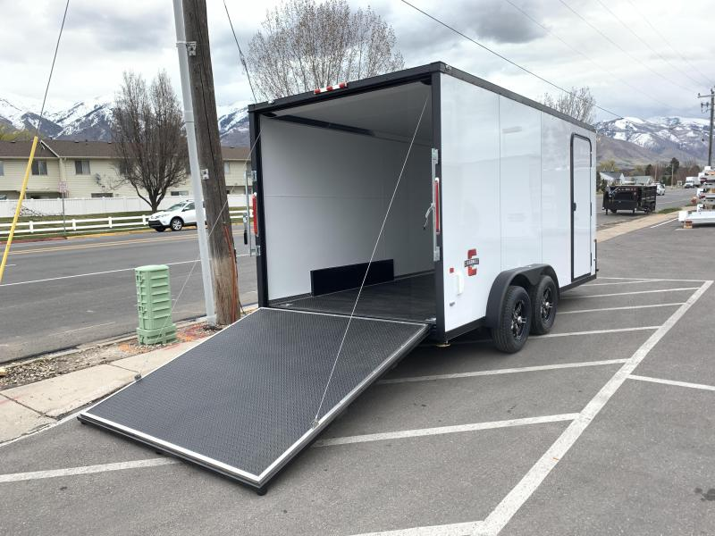 Charmac 7.5x16 Stealth Cargo w/ Black Trim & UTV Package