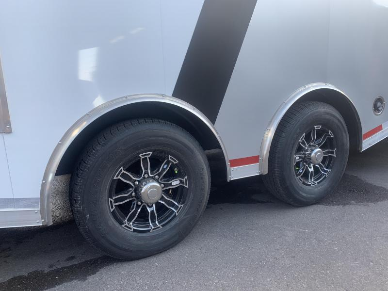 2020 Charmac Trailers 38 Gooseneck Tri Sport Snowmobile Trailer